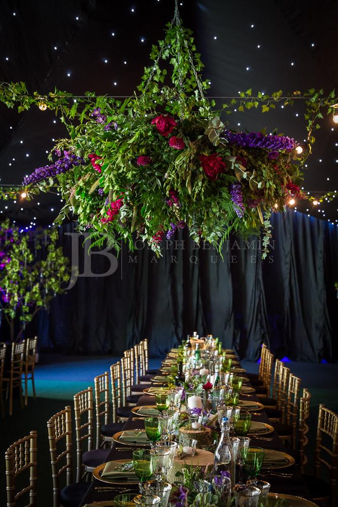 Wedding Marquee Interior Oxfordshire