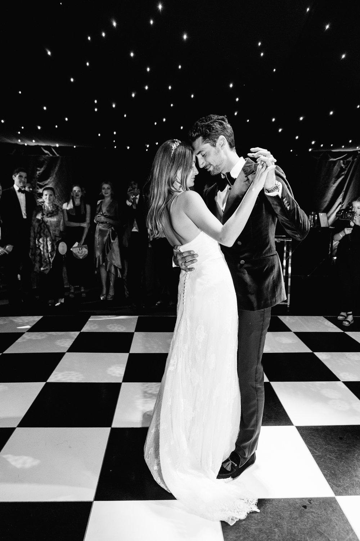 Raised Floor Wedding Marquee Dance Floor