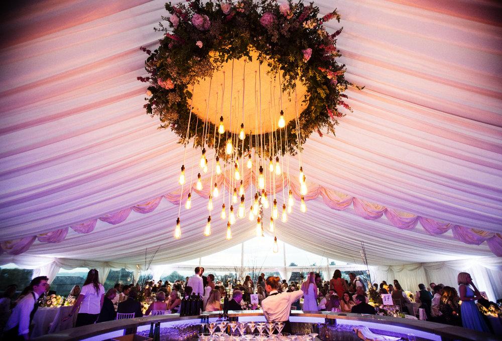 a hillside wedding. - 200 guest hillside wedding.