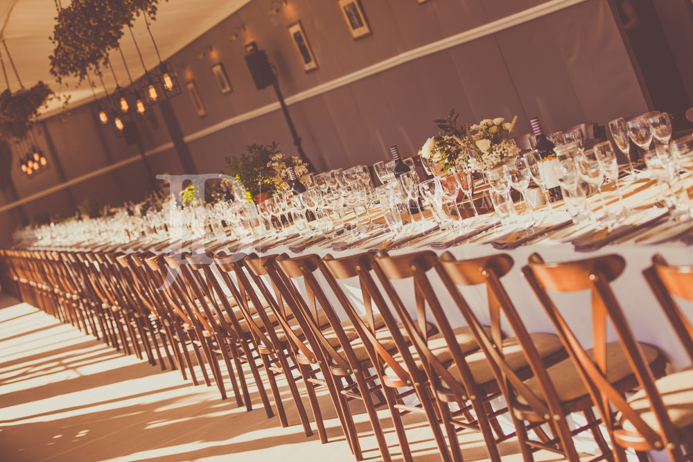 Wedding Marquee Dining Tables