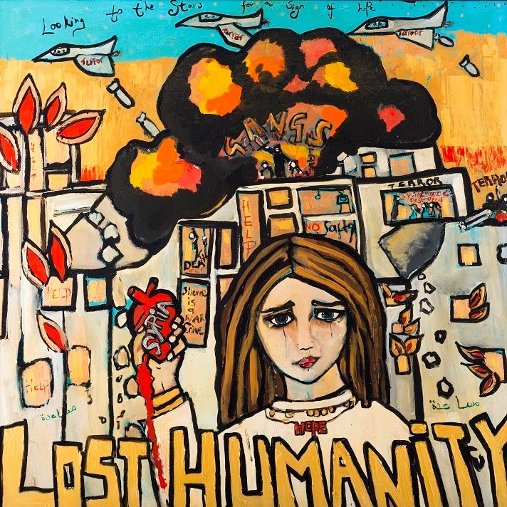Lost Humanity by Harriet Whyatt