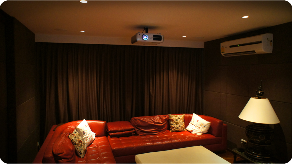 Projection based Home Theater in Phuket