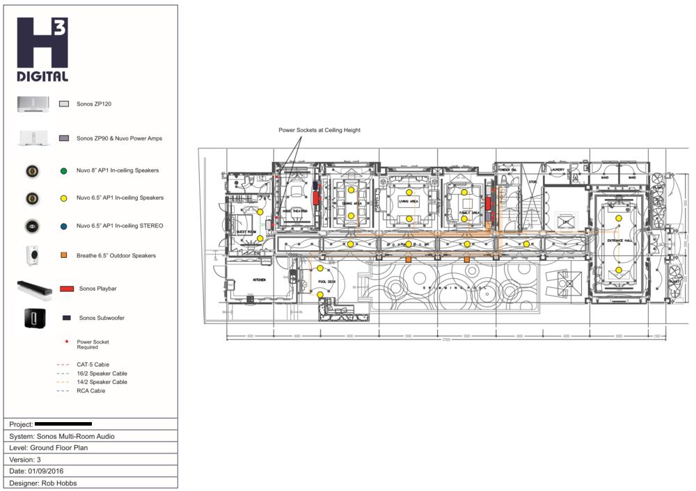audio systems h3 digital smart homes cinema, audio & lights Sonos Wiring Diagram example 1 sonos conceptual plan sonos wiring diagram