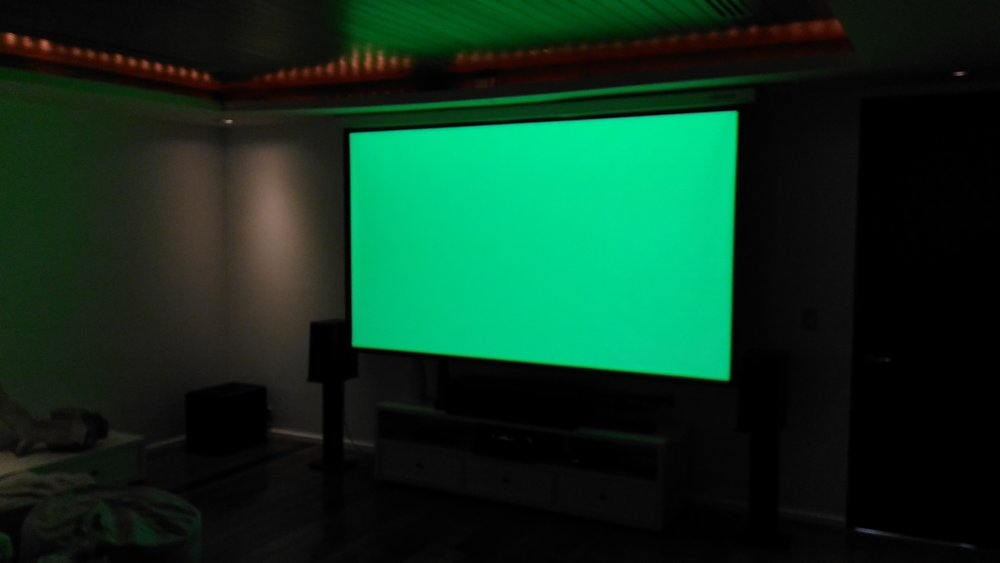 Home Cinema Green levels
