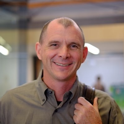Former CEO (and founder) John MacFarlane