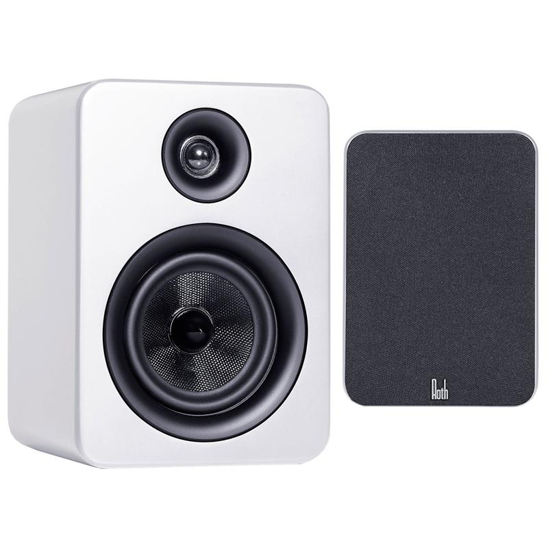 Roth Oli RA1 Speakers in White