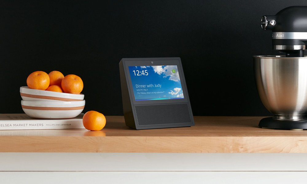 The new Amazon Echo Show - Amazon's newest home assistant.