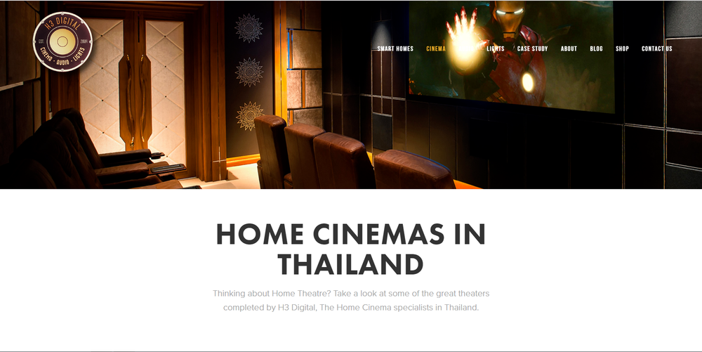 2016 Home Cinemas in Thailand page