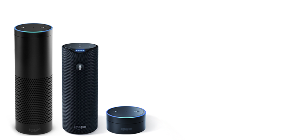 Amazons Echo - control with your voice.