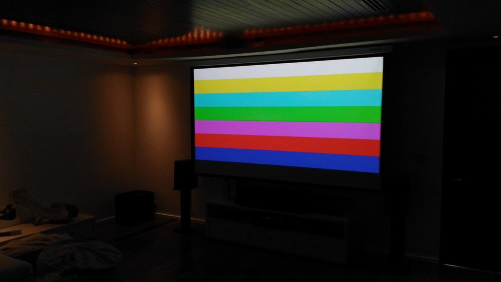 Test Cinema Colour - Palette