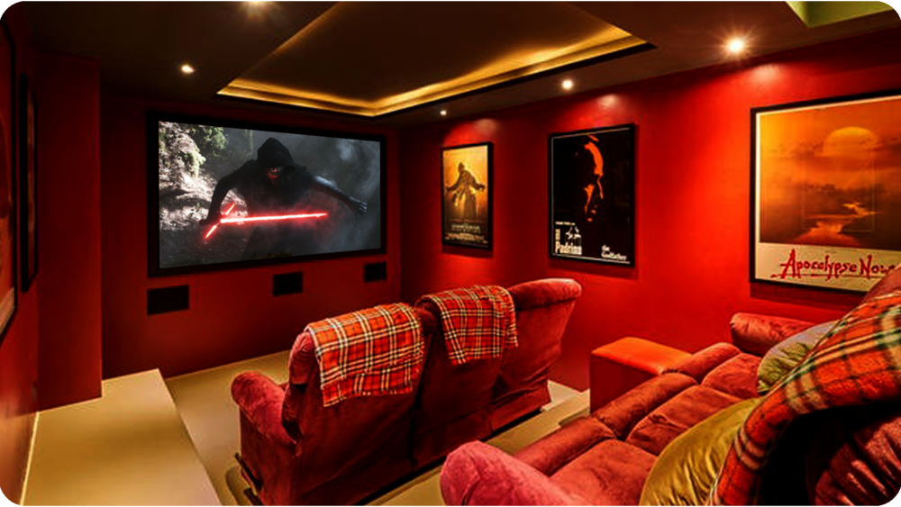 Home Cinema in Kamala