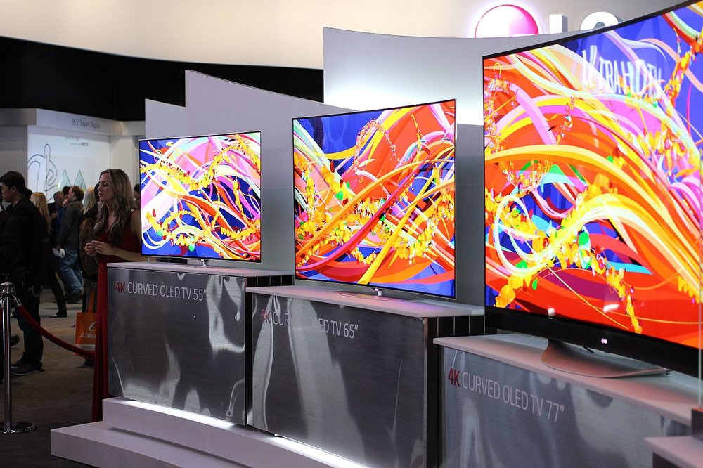 LG Curved 4k TV