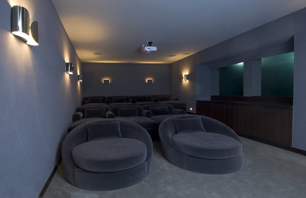 Home Theatre towards Rear