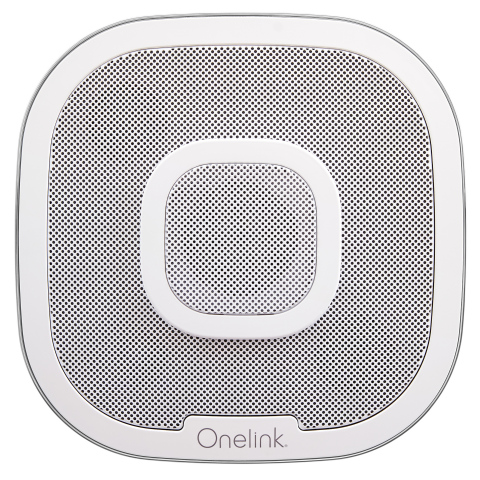 OneLink Smoke Alarm, Microphone and Smart Speaker