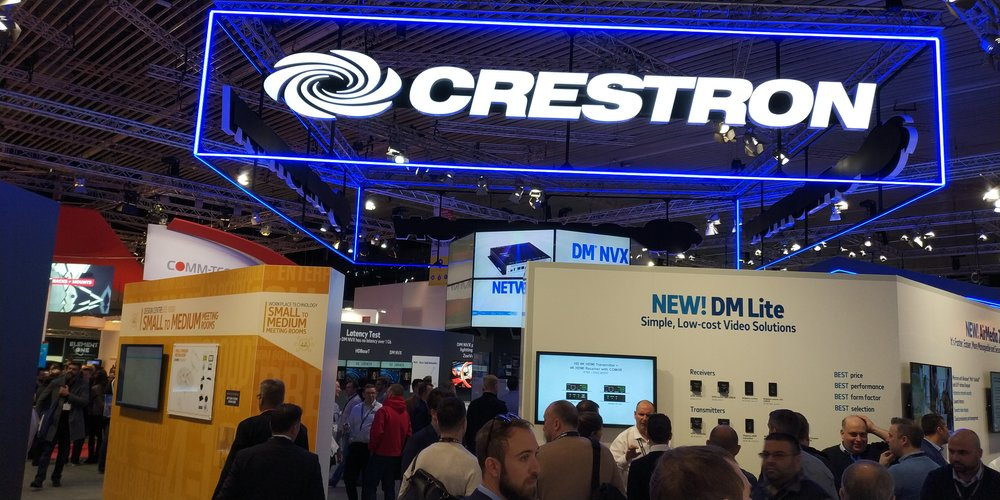 Crestron Booth
