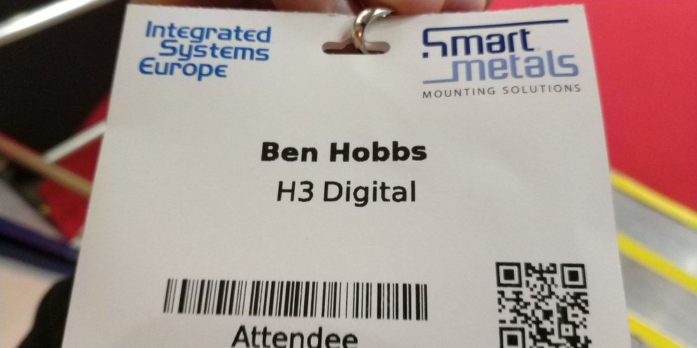 ISE 2018 Attendance Badge