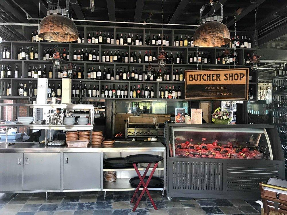 The Butchers Shop.