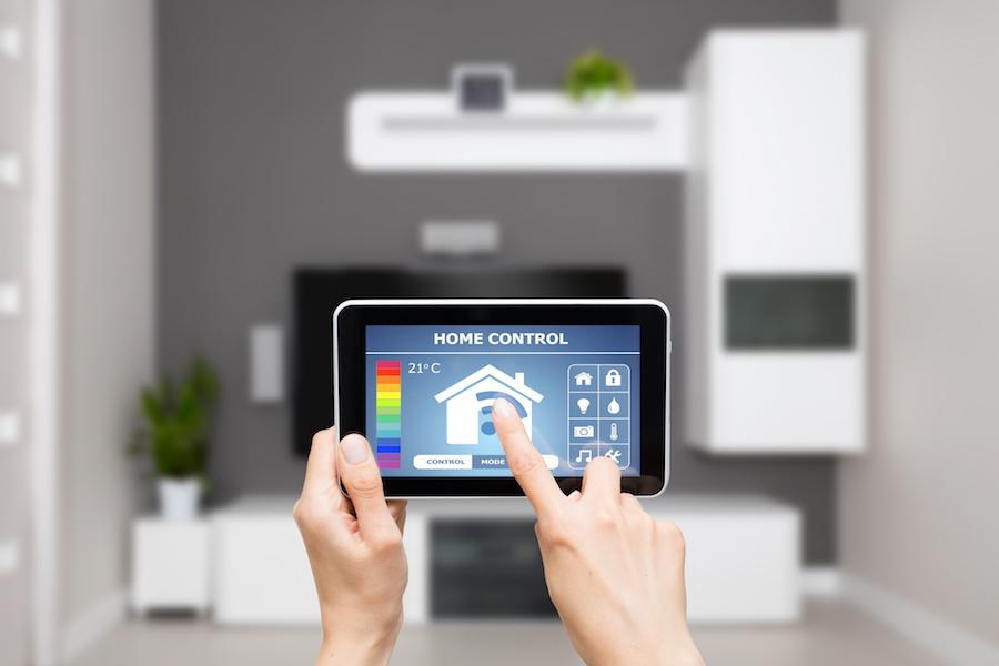 Smart Home control via Tablet