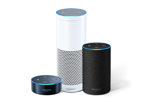 Amazons Alexa range of products