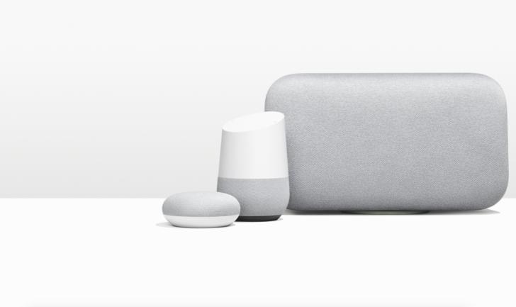 Google's Home range