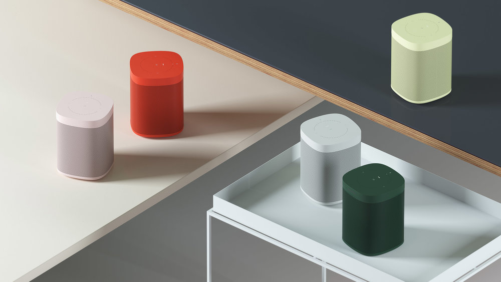 Sonos ONE in Colours