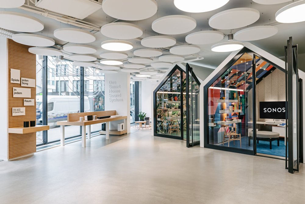 Sonos Flagship Store in Berlin
