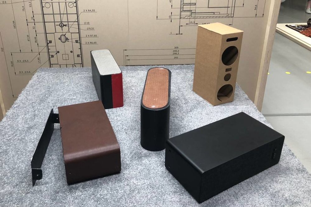 Designing an IKEA speaker, powered by Sonos.