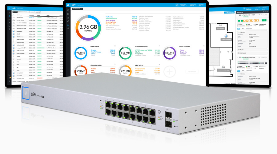 Unifi 16 Port PoE Switch