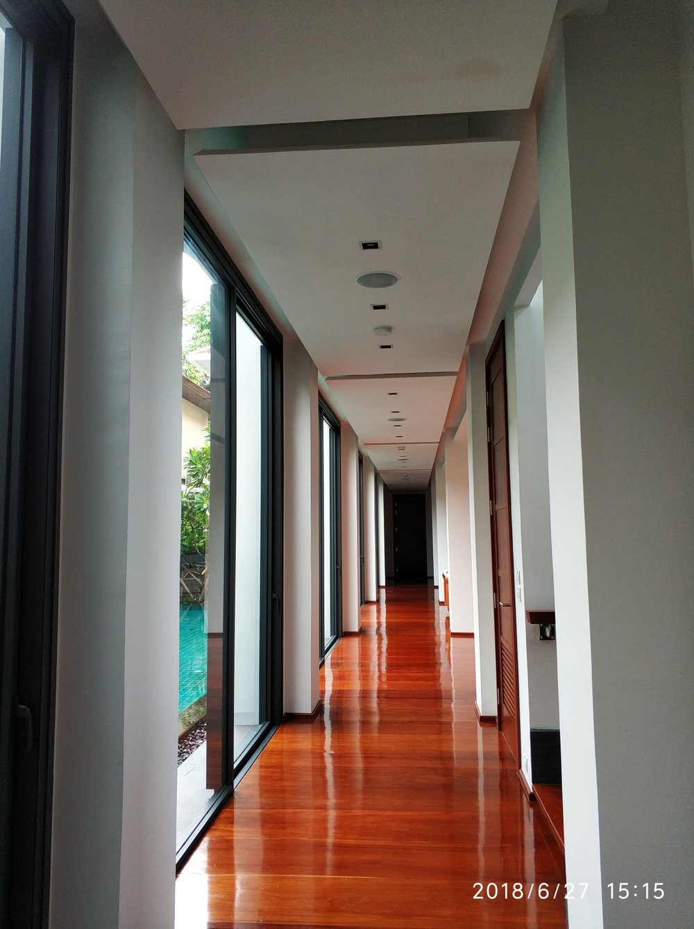Sukhumvit Rd In-Ceiling Speakers - Entrance