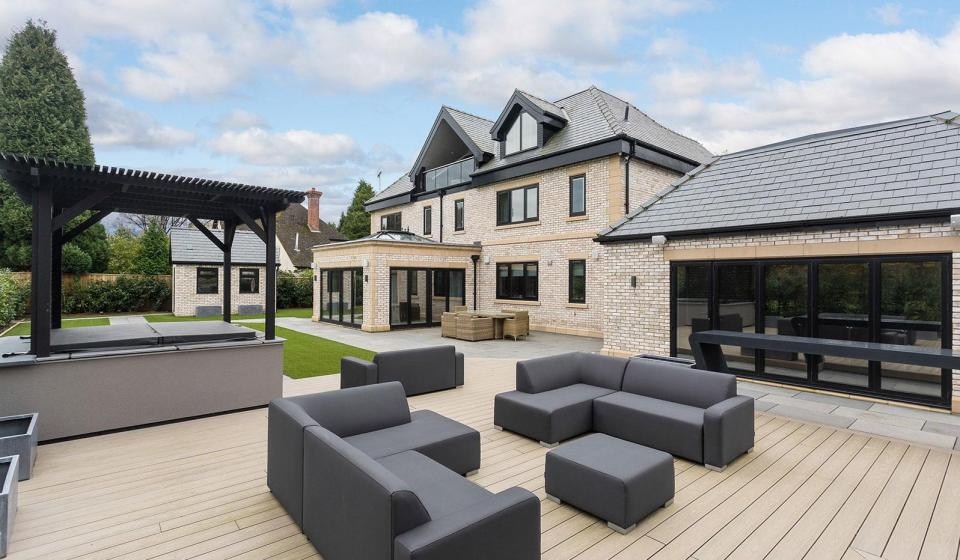 Jordan Pickford's new Cheshire Home