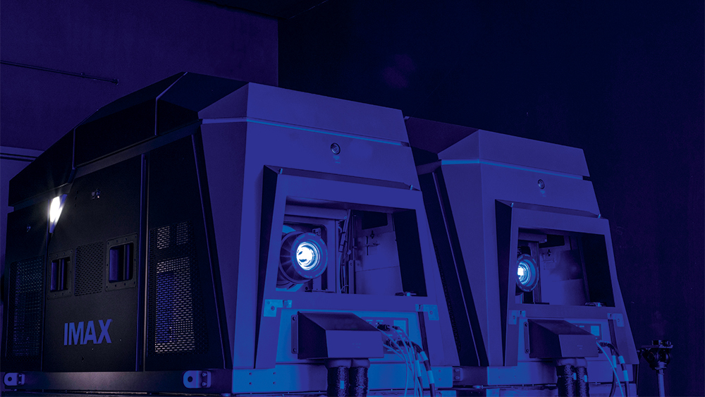 IMAX Laser Projector - Huge