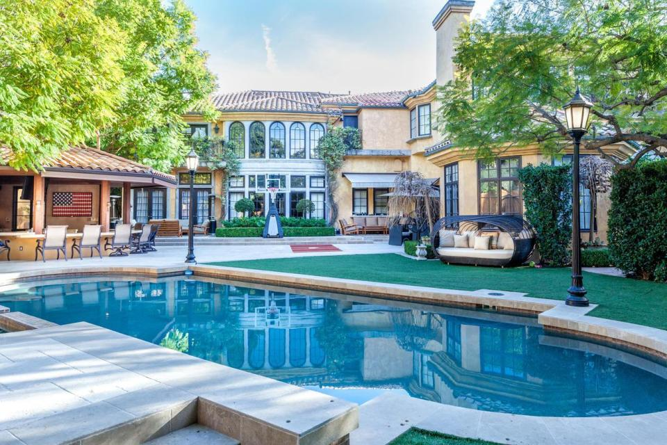 Charlie Sheen's old house now owned by Kendall Jenner