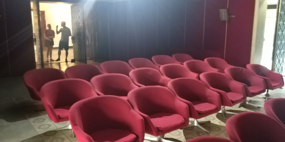 Retro Cinema seating