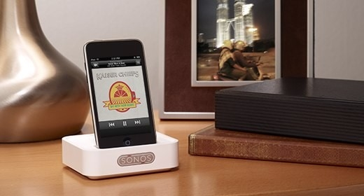 The iPod Dock for Apple iPods and iPhones for SONOS