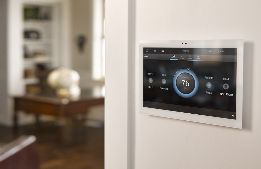 Control4 Smart Home Touchscreen
