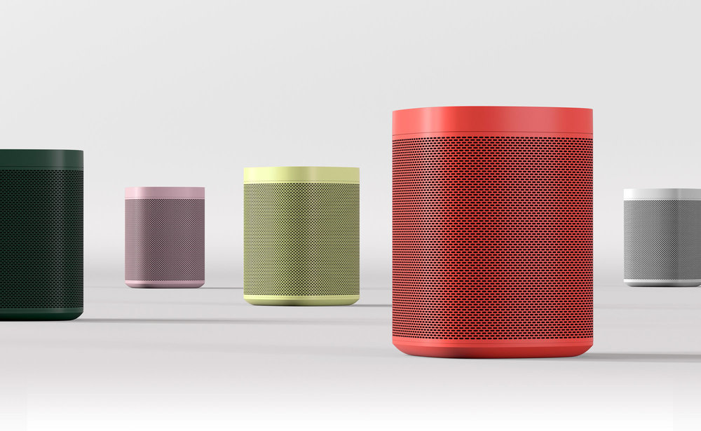 Sonos ONE in different colours