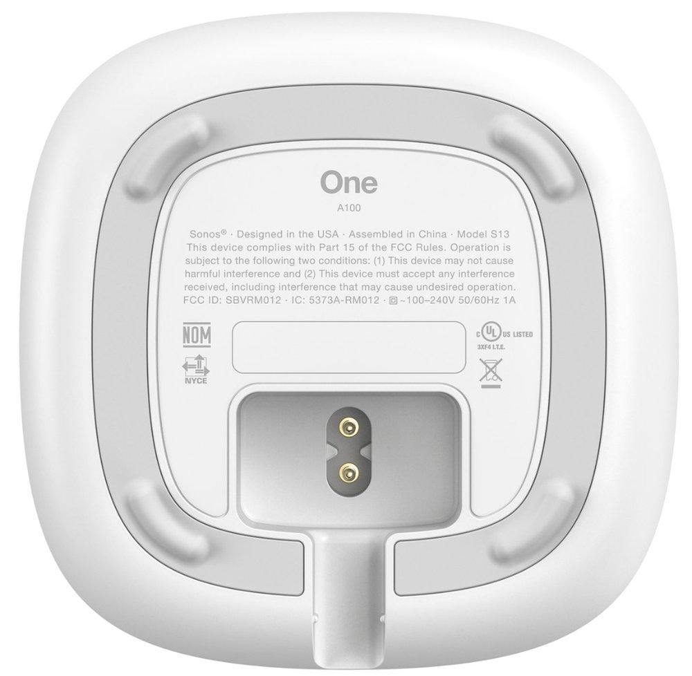 Sonos ONE underside