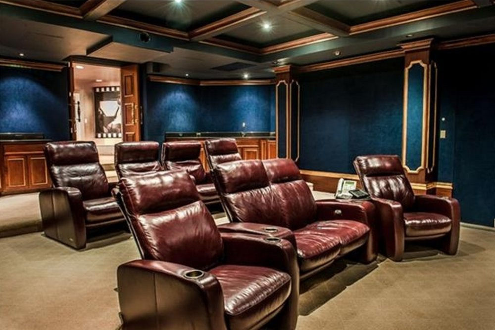 Leather Home Cinema Recliners