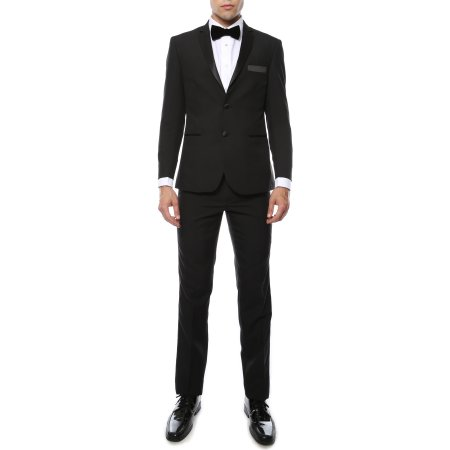 Paul Lorenzo  by Ferrecci Premium Black Slim Fit. From $79 on Amazon and Walmart.