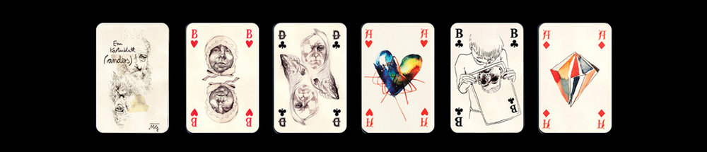 Monja's Keinemusik deck of cards.