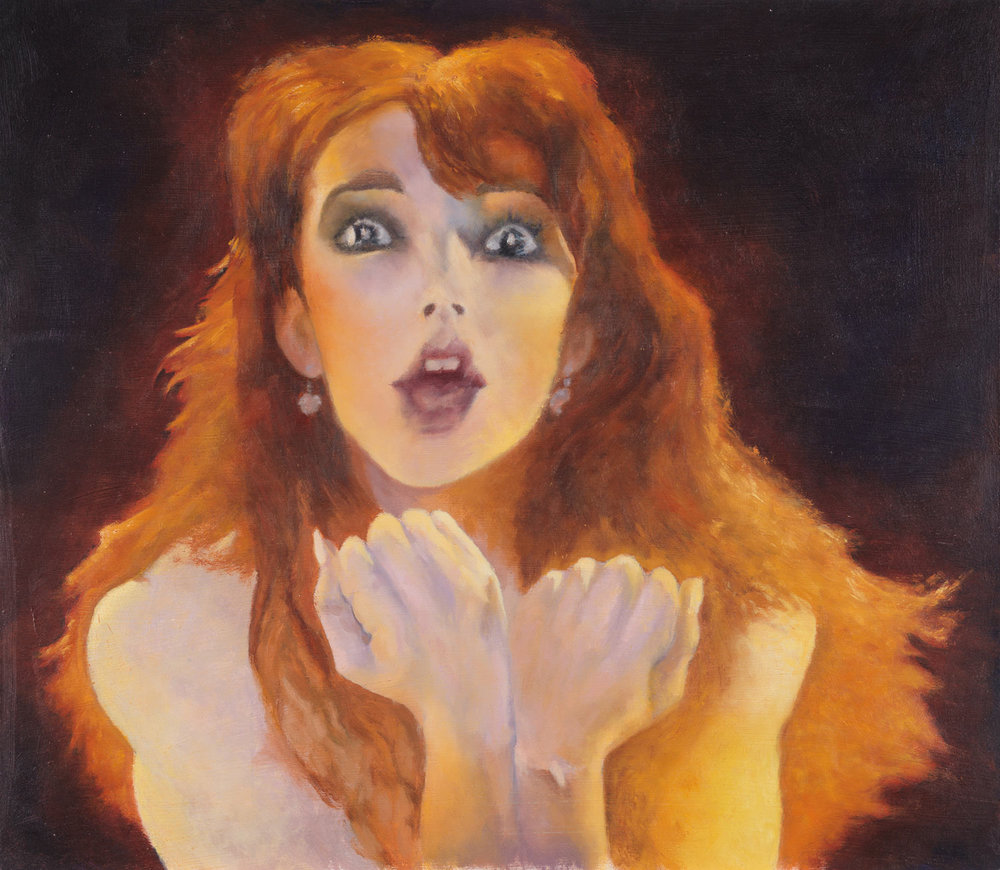 """Wuthering Heights - Kate Bush 21""""h X 24""""w"""
