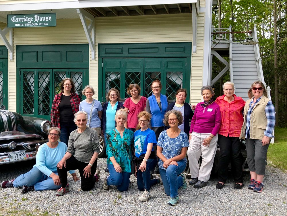 2018 Pemaquid Retreat participants (partial)