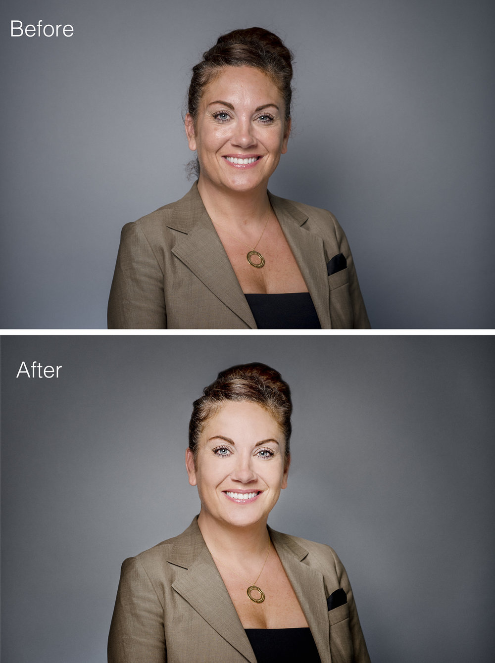 corporate portrait retouching