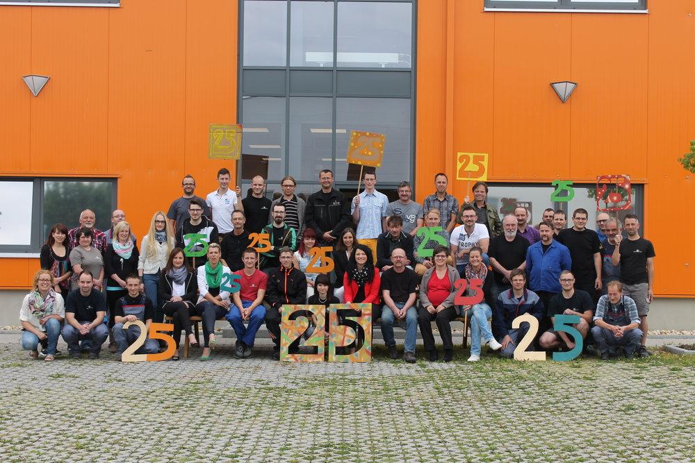 25 Jahre - Bräuer Systemtechnik GmbH / 10 Jahre - abe Industrietechnik GmbH