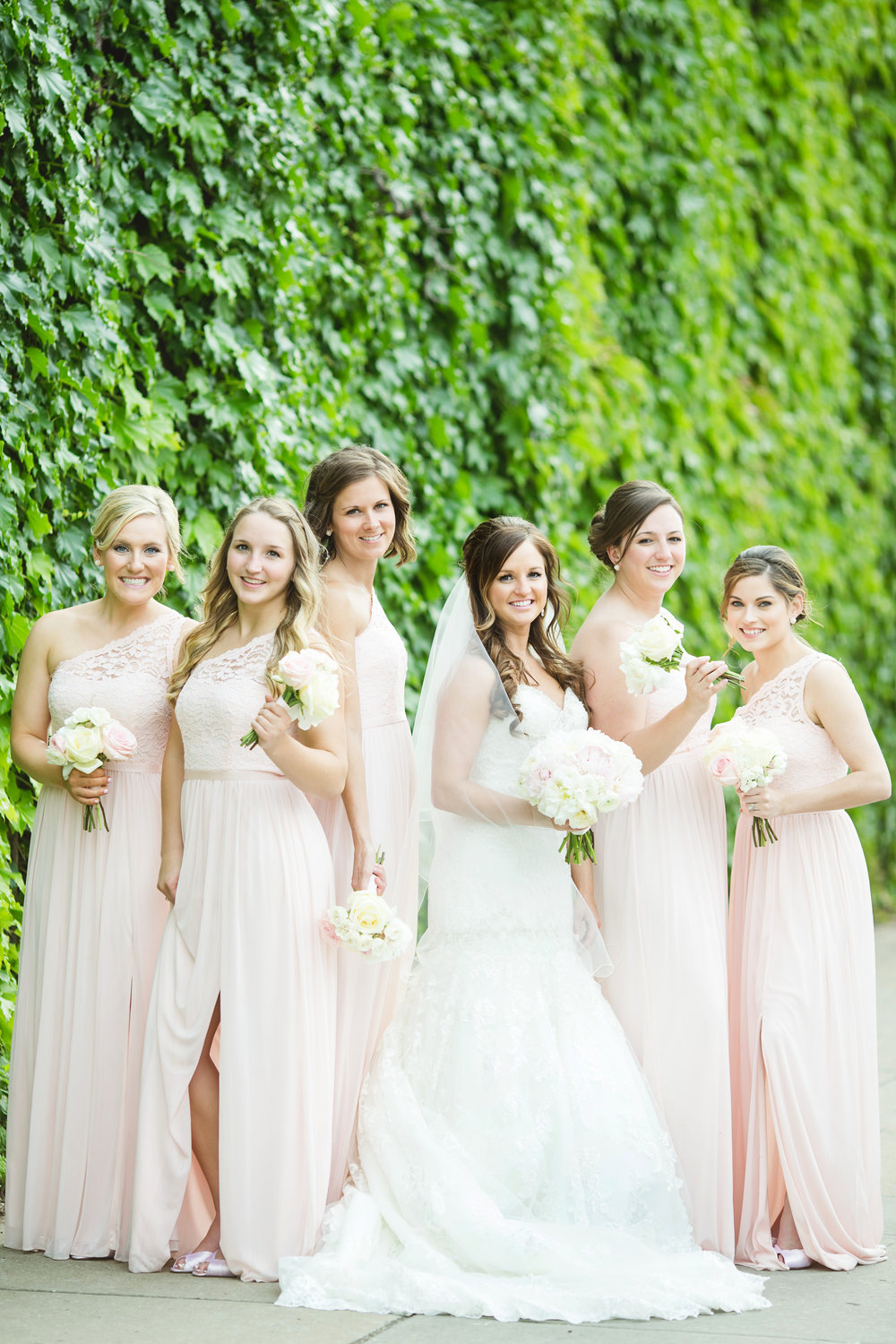Rachel And Nick: Spring Wedding at The Venue, Leawood Kansas by Claire Ryser of Visionaire Studios.
