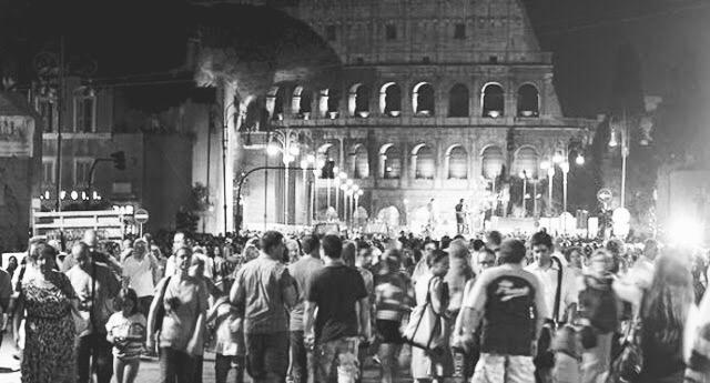 pedestrian rome