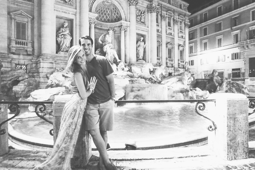 honeymoon rome