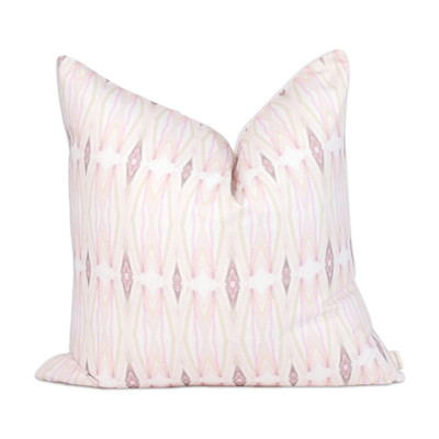 Blush Watercolor pillow