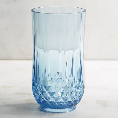 Sea glass blue acrylic tumbler