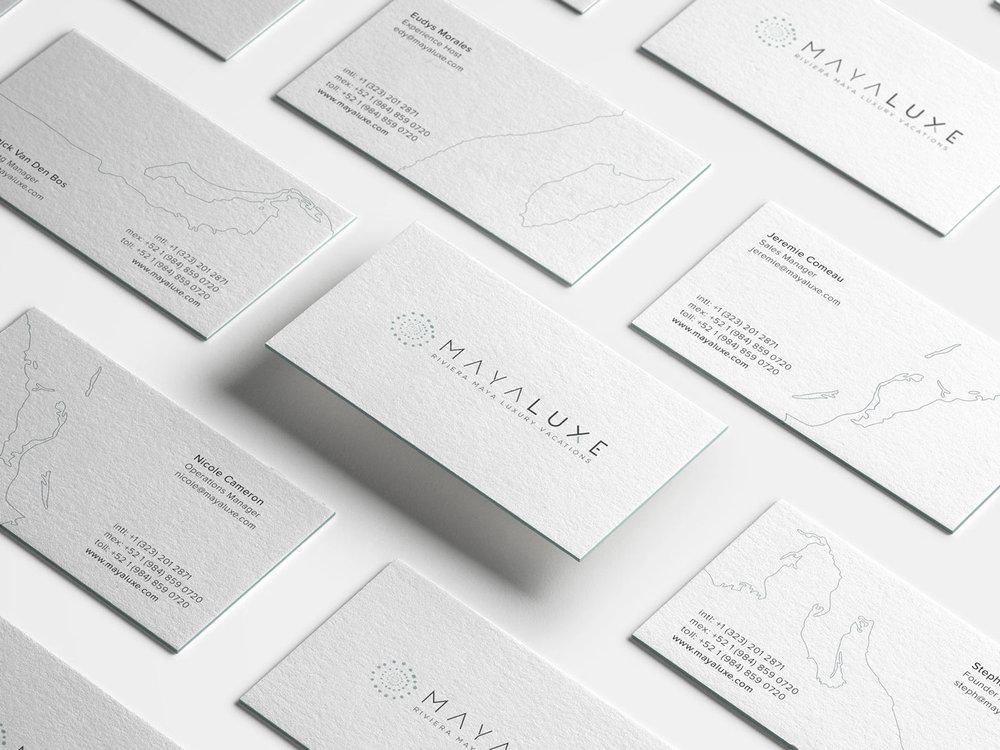 Brandy Identity / Print Design     Maya Luxe